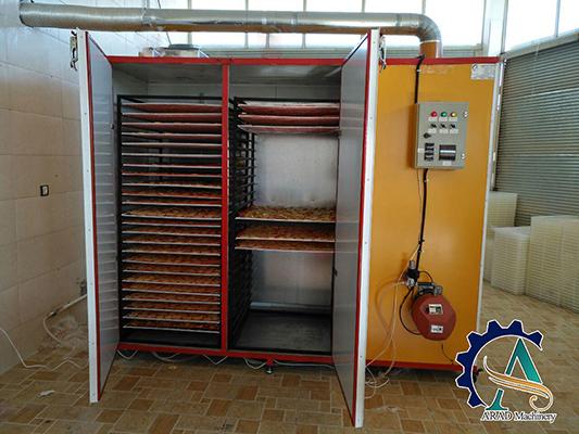 دستگاه خشک کن میوه دو کابین