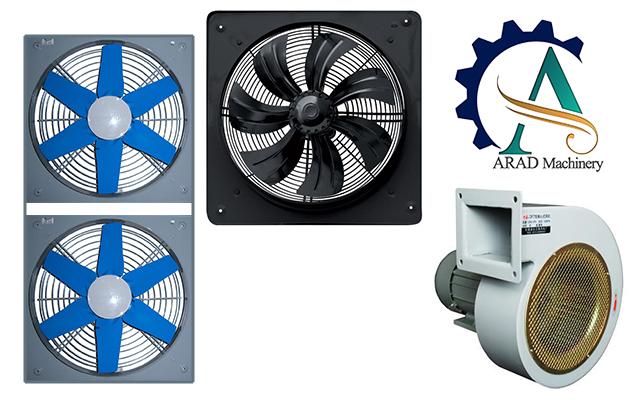 مجفف الهواء الصناعي الساخن في نظام تداول الهواء