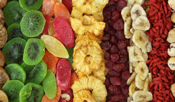 تولید انواع میوه خشک