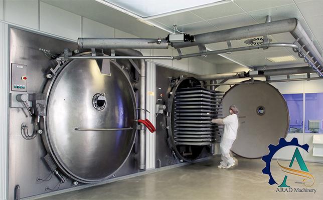 دستگاه خشک کن به روش انجماد
