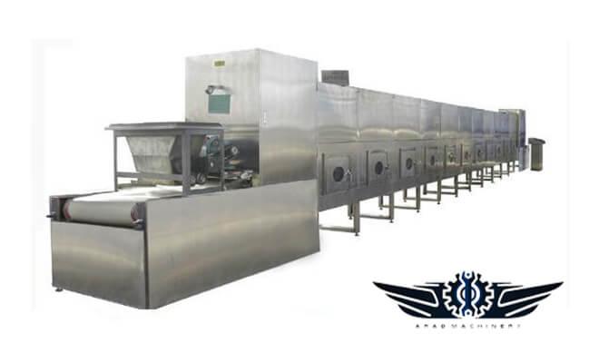 دستگاه خشک کن صنعتی تونلی
