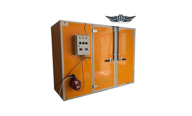 دستگاه خشک کن صنعتی دو کابین